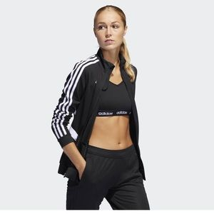 NWT adidas unisex soccer zip up jacket size XL